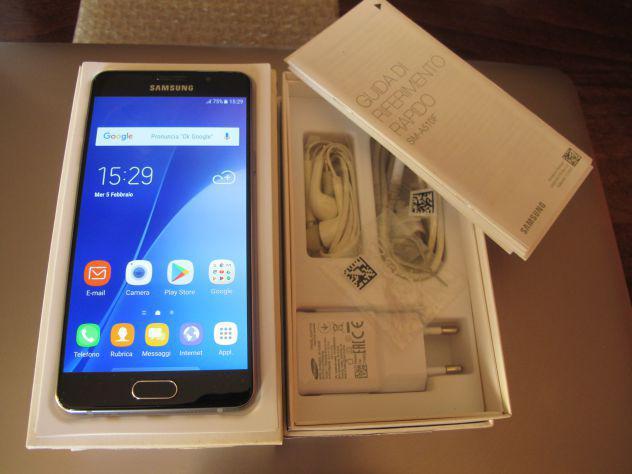 Samsung galaxy a5 sm-a510f 16 gb colore nero