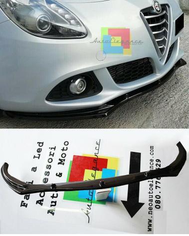 Alfa romeo giulietta 2010+ lip spoiler sotto paraurti