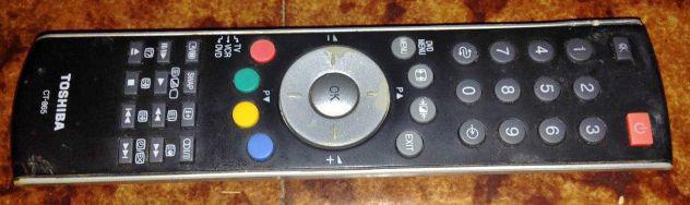 Autentico originale toshiba ct-865 ct865 televisore tv led