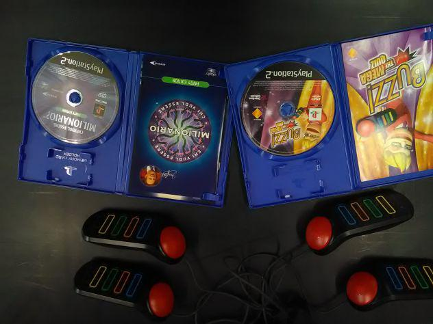 Bv - ps2 buzzer joypad con 2 giochi