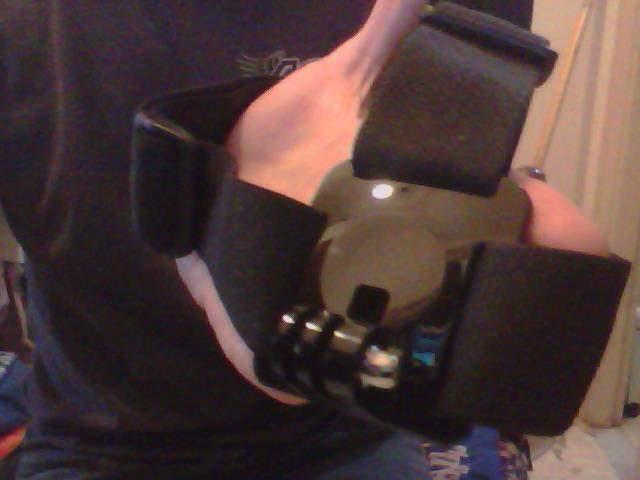 Gopro head mount (fascia da testa)