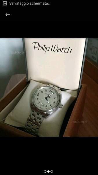 Philip watch acciaio