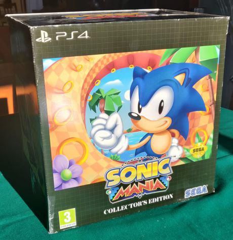 Sonic mania ps4 collectors edition