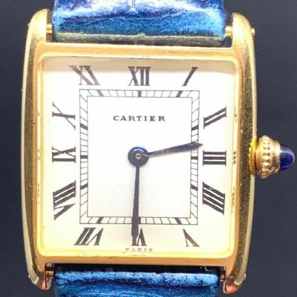 Cartier tank ellipse oro massiccio 18 kt