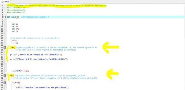 Corso informatica base/linguaggi di programmazione c/c++