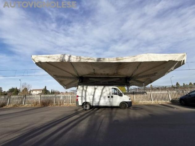 Fiat ducato 14 2.5 tdi pc furgone tenda mercato rif.