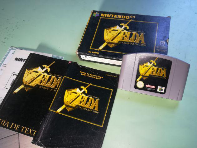 Zelda Ocarina of Time Nintendo 64 N64 Pal