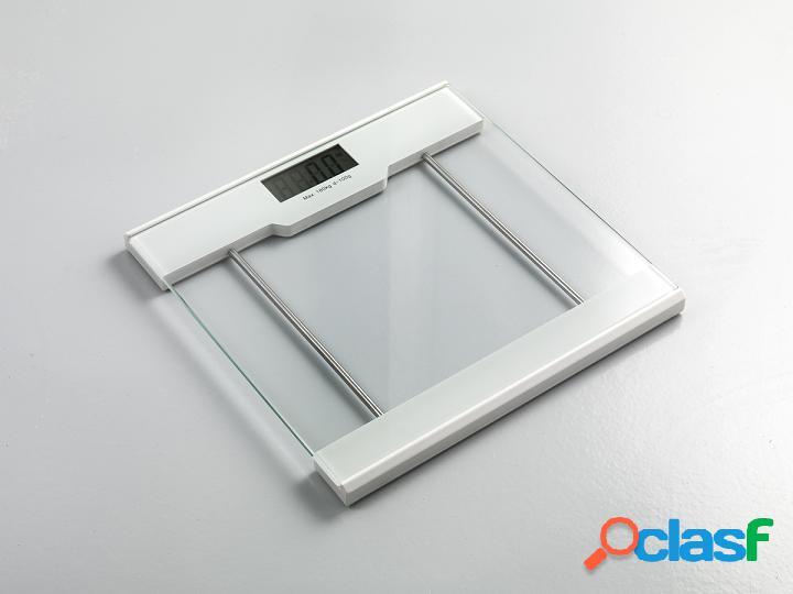Bilancia pesapersone semplice in vetro