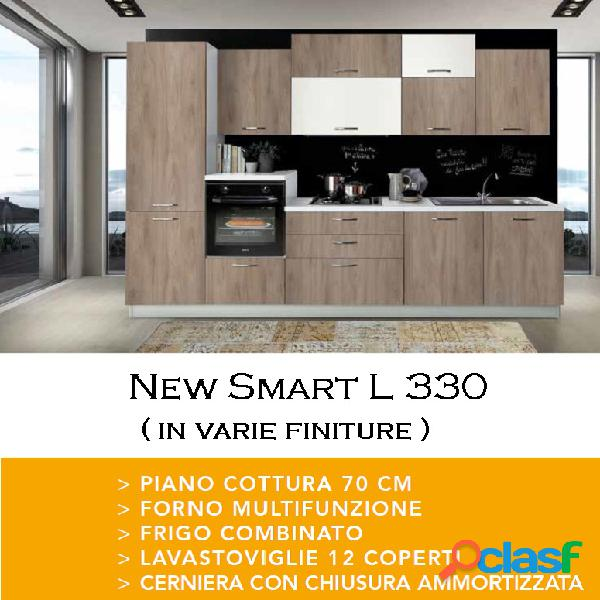 Cucina new smart 2 l 330 poker