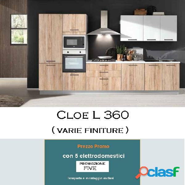 Cucina new smart l 360 five
