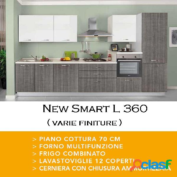 Cucina new smart l 360 poker