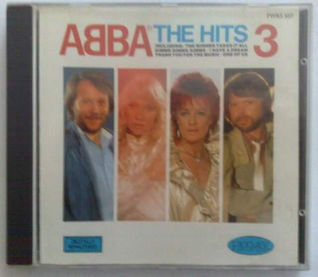 Cd abba,the hits vol.3 1991 pickwick rec.pwks 507..album
