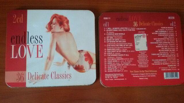 Endless love-36 delicate classics raccolta successi doppio