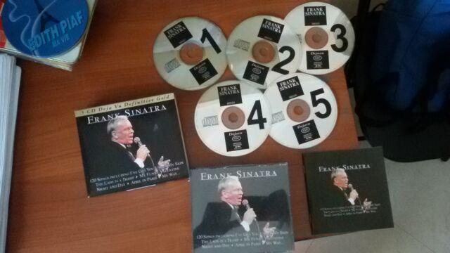 Raccolta 5 cd frank sinatra -collection