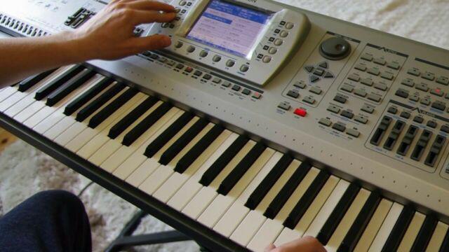 Tastiera professionale audya5 usata