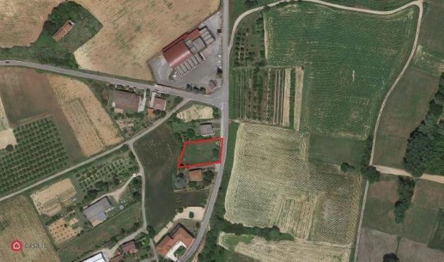 Terreno edificabile di 1080mq in via dusio a scurzolengo