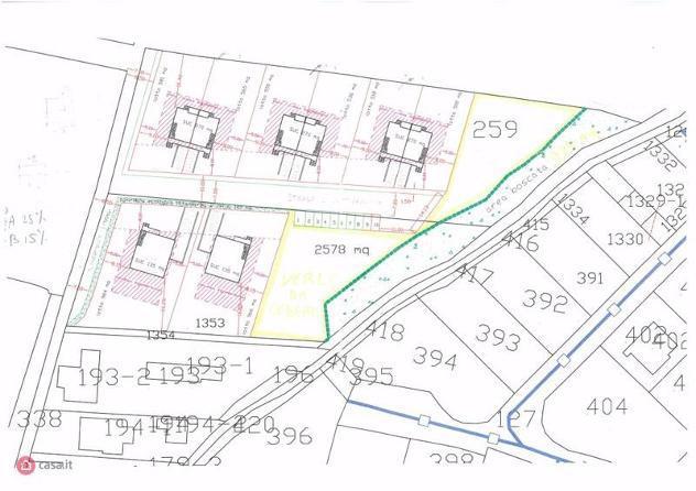 Terreno edificabile di 9620mq in via michelangelo a assisi