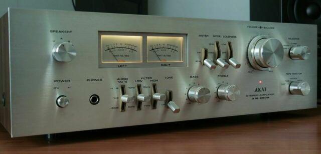 Amplificatore vintage akai am-2600 65 watt rms