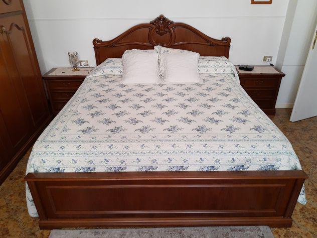 Camera da letto barocco liberty noce