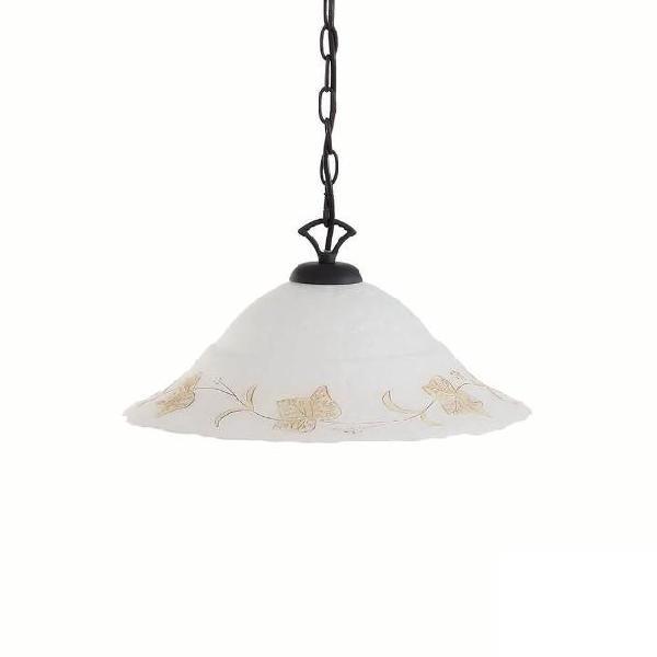 Lampada a sospensione 5w led ideal lux ambra