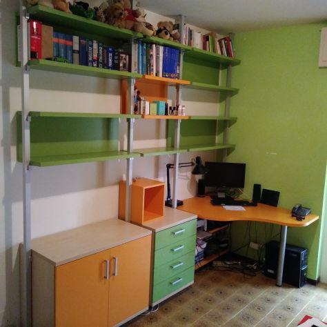 Libreria con scrivania colombini