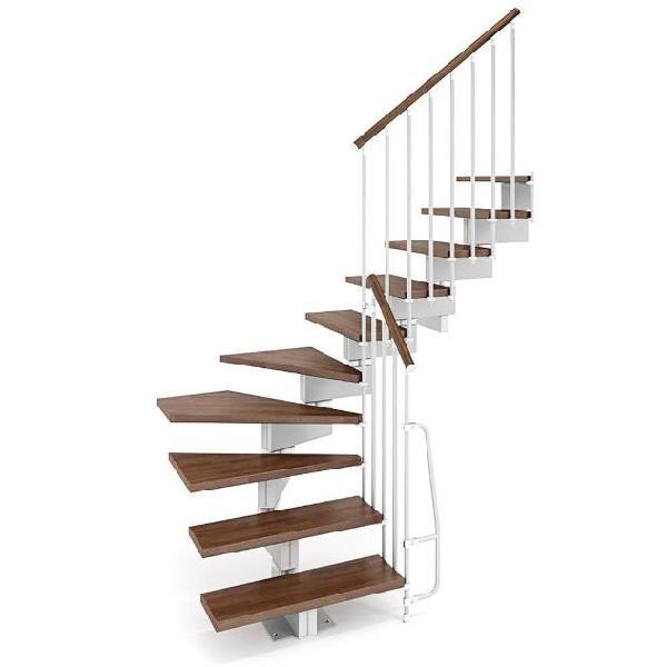 Scala a rampa modulari a l larghezza 70 cm 11 scalini