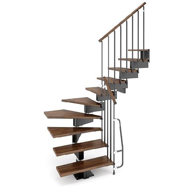 Scala a rampa modulari a l larghezza 83 cm 10 scalini