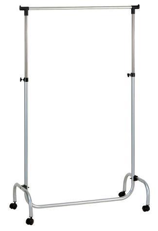 Stender appendiabiti estensibile in metallo 90x45x96/175 cm
