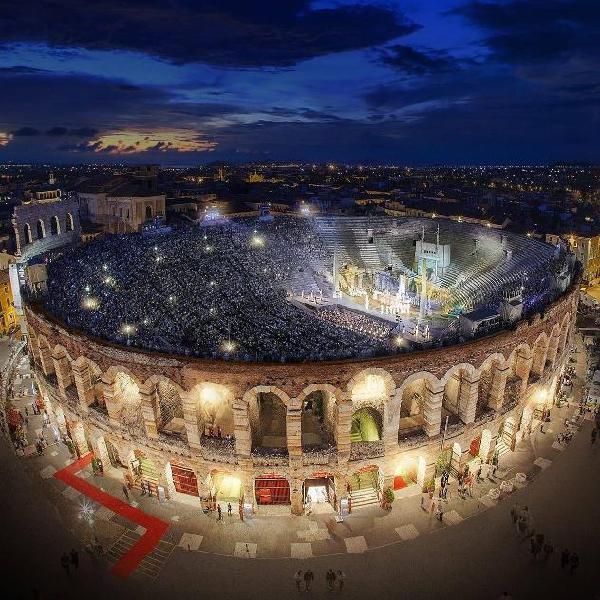 Aida - arena 2020 - il 02 agosto 2020 - partenza da agrate