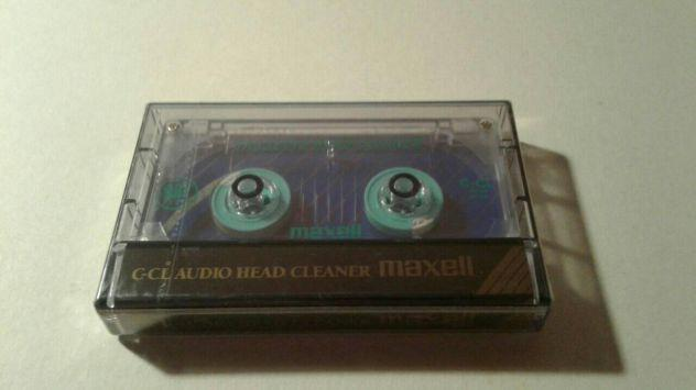 Audio cassetta maxell pulisci testine c-cl head cleaner