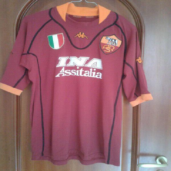 Maglie calcio roma match worn issued ed altre serie a