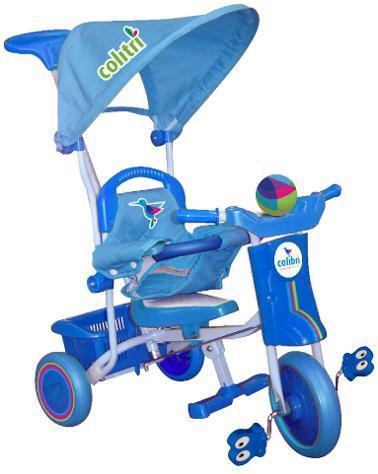 Passeggino triciclo miller colitr㬠azzurro