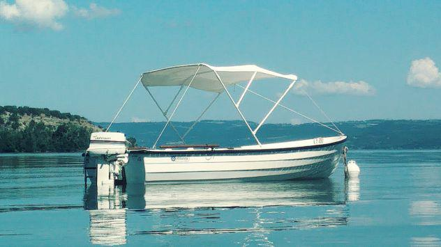 Barca motore e carrello omologato