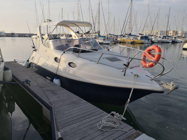 Barca semicabinato seacode 25 ex coverline