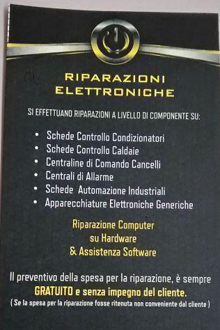 Riparazioni elettroniche e assistenza tecnica