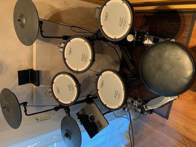 Roland td-1kpx2 con modulo sonoro td-17