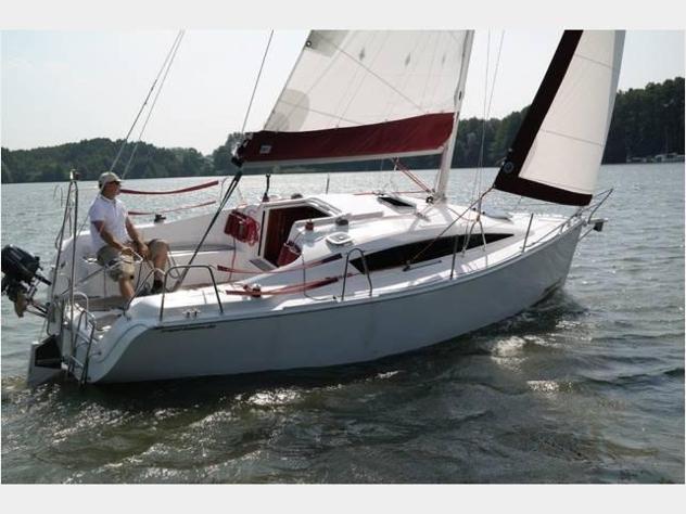 Barca a vela dalpol phobos 25 anno2020 lunghezza mt8