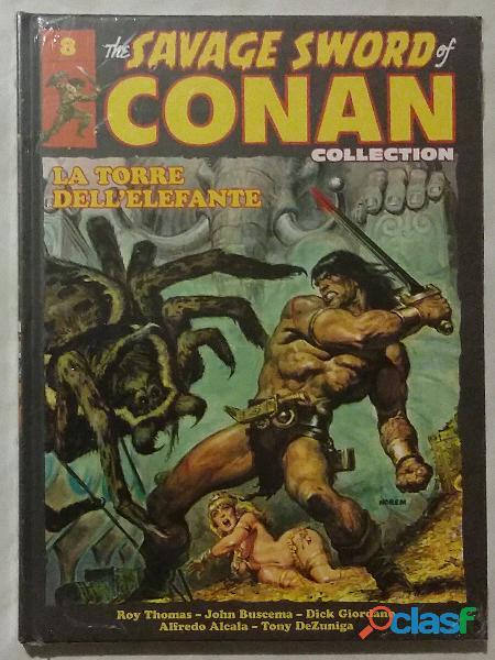 The savage sword of conan collection uscita 8 la torre dell'elefante nuovo