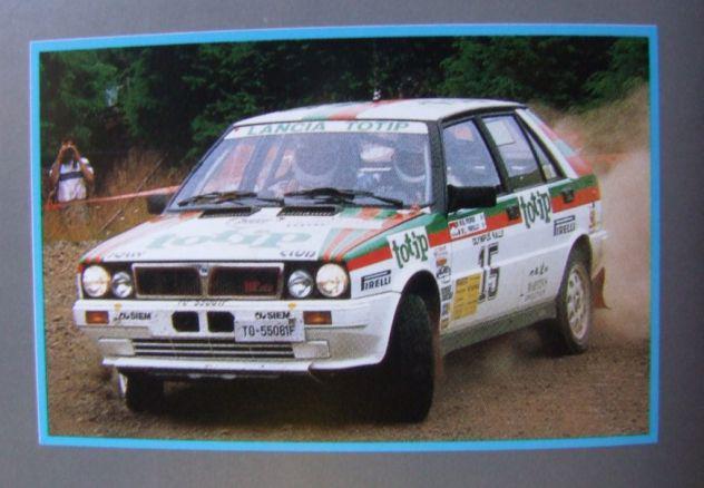 Depliant 58 auto lancia delta hf brochure italia