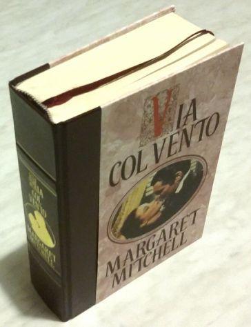 Margaret mitchell via col vento ed. speciale illustrata,