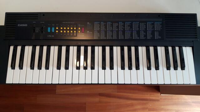 Tastiera elettronica casio ctk-50