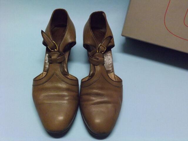 Varie scarpe sandali vero vintage anni 60 pelle made in