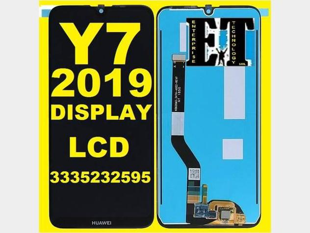 Y7 2019 display lcd assistenza tecnica nuovo