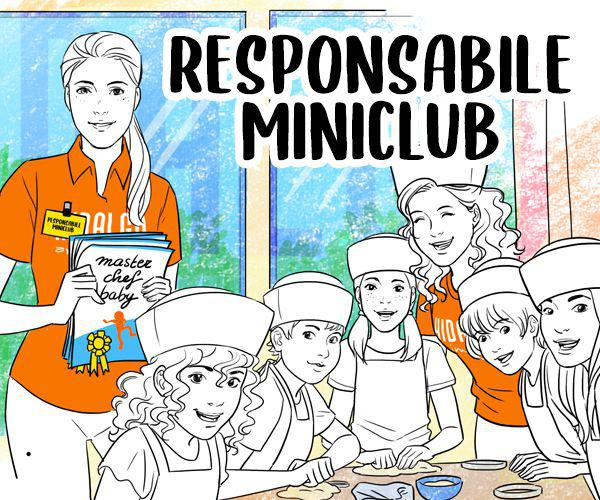 Animatrice mini club