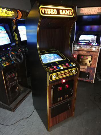 Cabinato arcade compatto 14p anno 1983 jamma