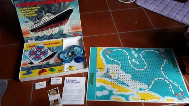 Gioco delle bermude 1977 editrice giochi mb