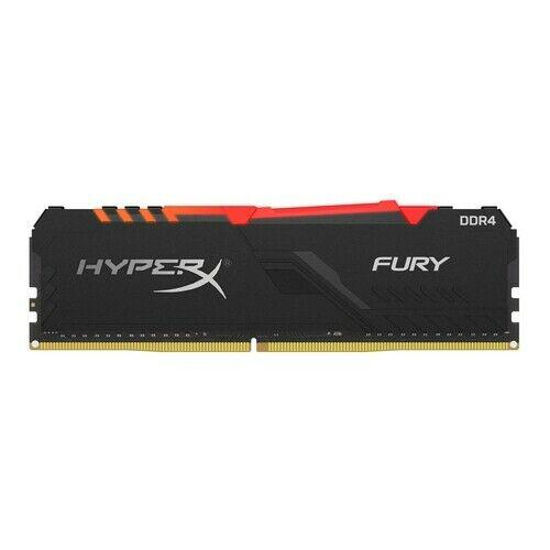 Hyperx fury hx426c16fb3a/8 memoria 8 gb ddr4 2666 mhz