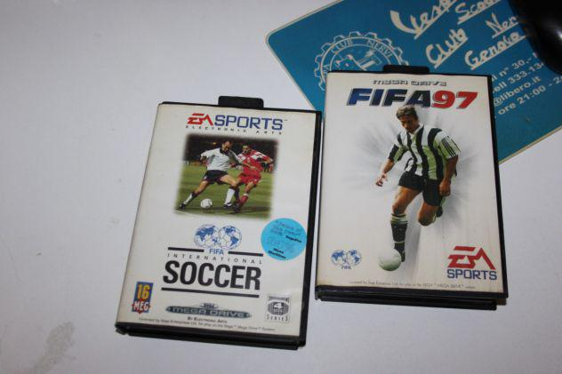 Lotto due giochi fifa 97 e fifa international soccer genesis