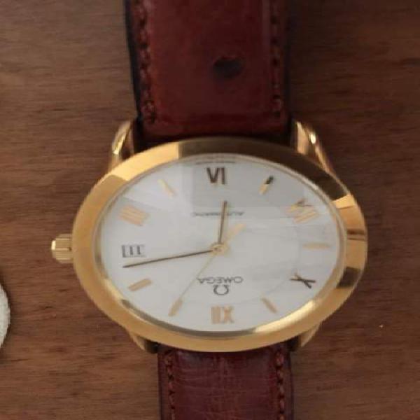 Orologio omega automatico datario oro 18 carati euro 2.250