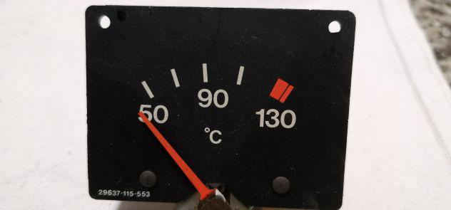 Strumento indicatore temperatura x strumetazione fiat lancia